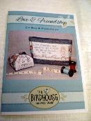 "Patron Trousse Love and Friendship ""The Birdhouse patchwork designs"""