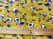 Tissu Jersey POPPY Beautifull Birds