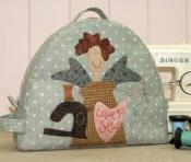 "Angel Project Tote ""The Birdhouse patchwork designs"""