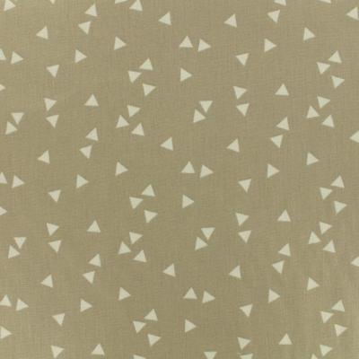 Tissu POPPY Triangles BEIGE