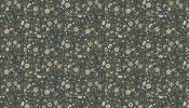 Tissu MAKOWER BLOOM-Floral scroll grey