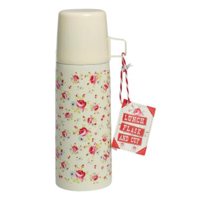 BOUTEILLE THERMOS IMPRIMEE ROSES