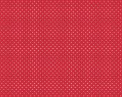 Tissu RILLEY BLAKE Small Dots rouge
