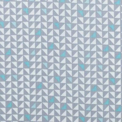 COUPON Tissu POPPY Pretty Triangles GRIS