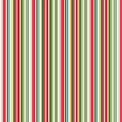 Tissu MAKOWER YULETIDE PAILLETTES STRIPES