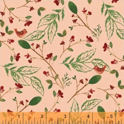"Tissu WINDHAM ""A Walk in the wood""Oiseaux"